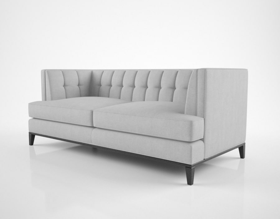 ... 3D Sofa Chair Preston Model ...