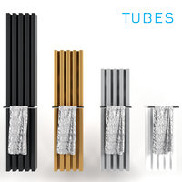 3D soho bathroom decorative radiator model