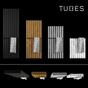 soho bathroom decorative radiator 3D model