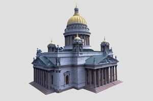 saint isaac s cathedral model
