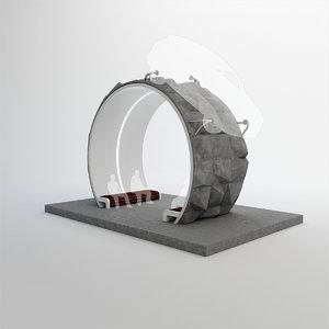 car display 3D model