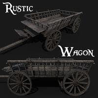 wagon 3D