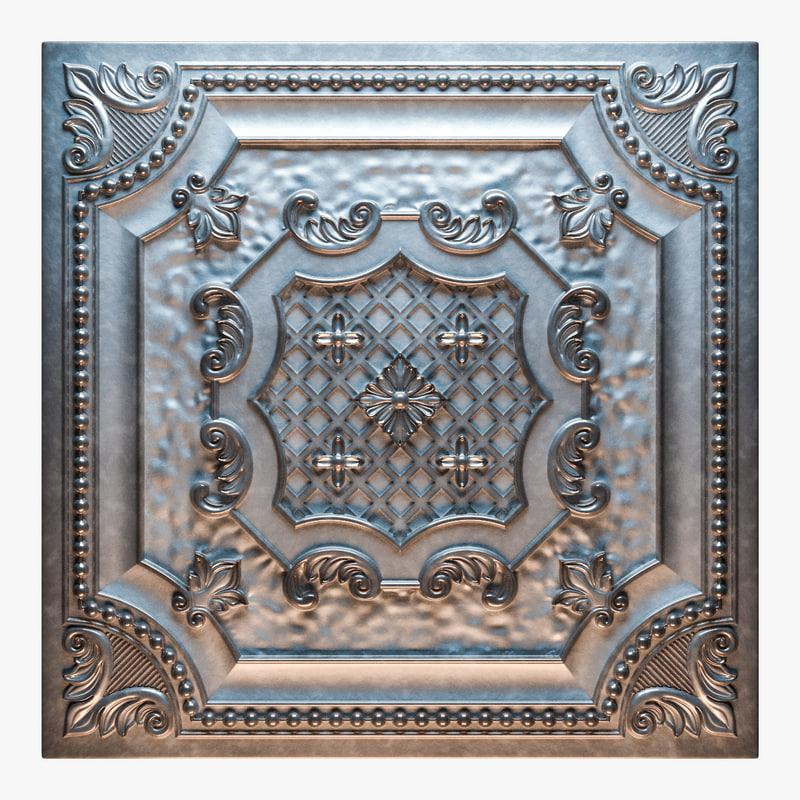 elizabethan shield - tin 3D