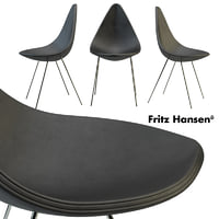 3D drop chair fritz hansen