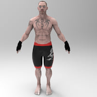 3D ufc fighting