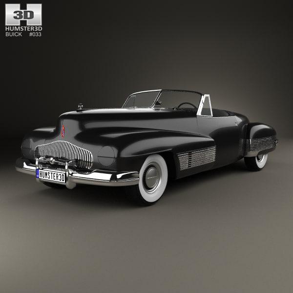 buick y-job 1938 model
