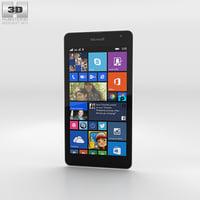 3D microsoft lumia 535