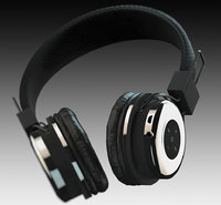 bluetooth tzumi headphones 3D model