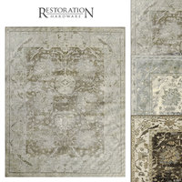 3D naturally rug ayla model