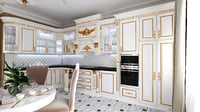 kitchen furniture classic 3D model