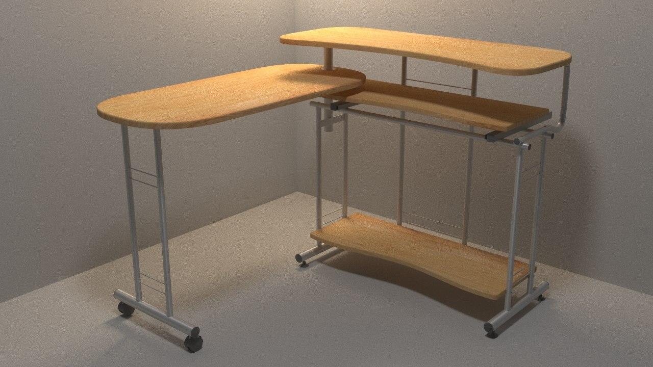 3D model table pc