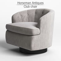 Horseman Club chair