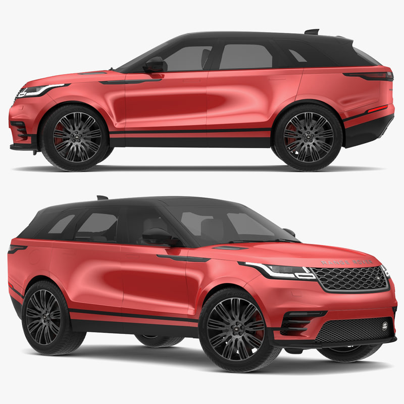2018 land rover range 3D model