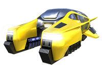 3D hover taxi