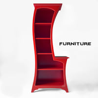 3D cartoon furniture