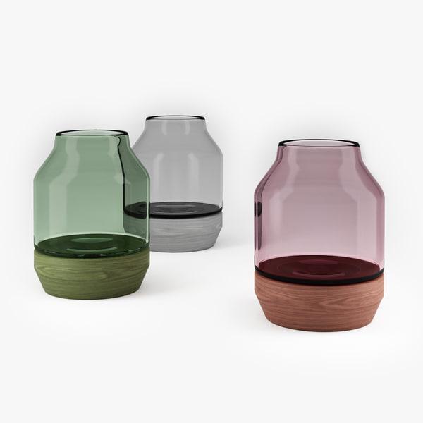 3D muuto elevated vase