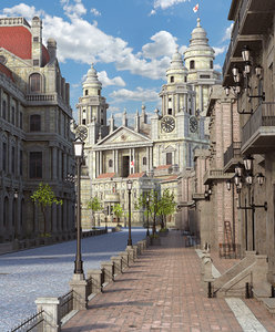 city classic 3D