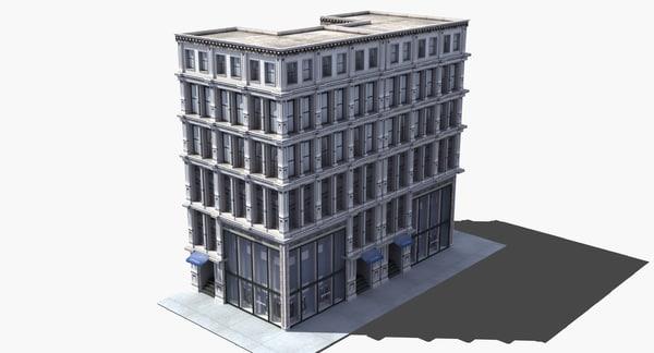 3D department store model