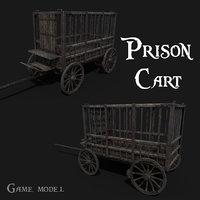 3D prison cart
