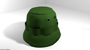 3D bucket hat