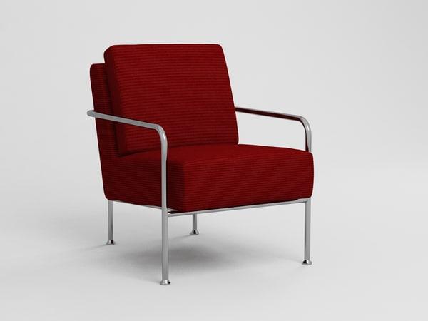 3D model x bang chair