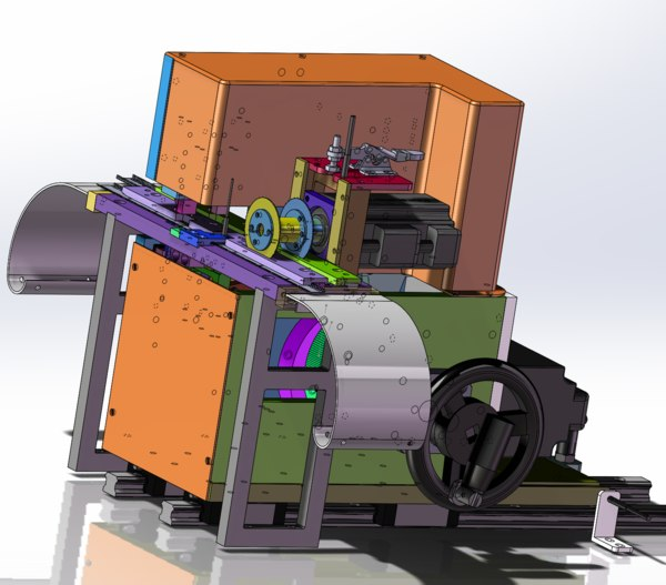 3D model cam bending machine