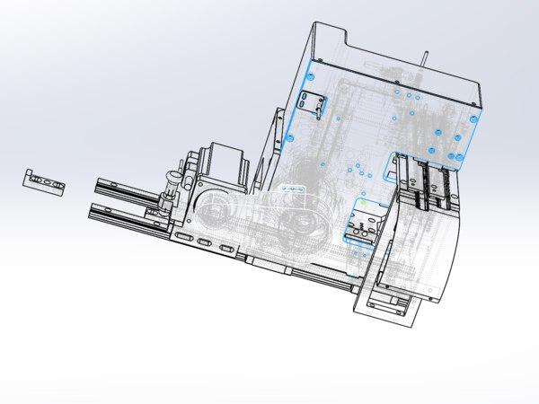 3D model cam bending machine
