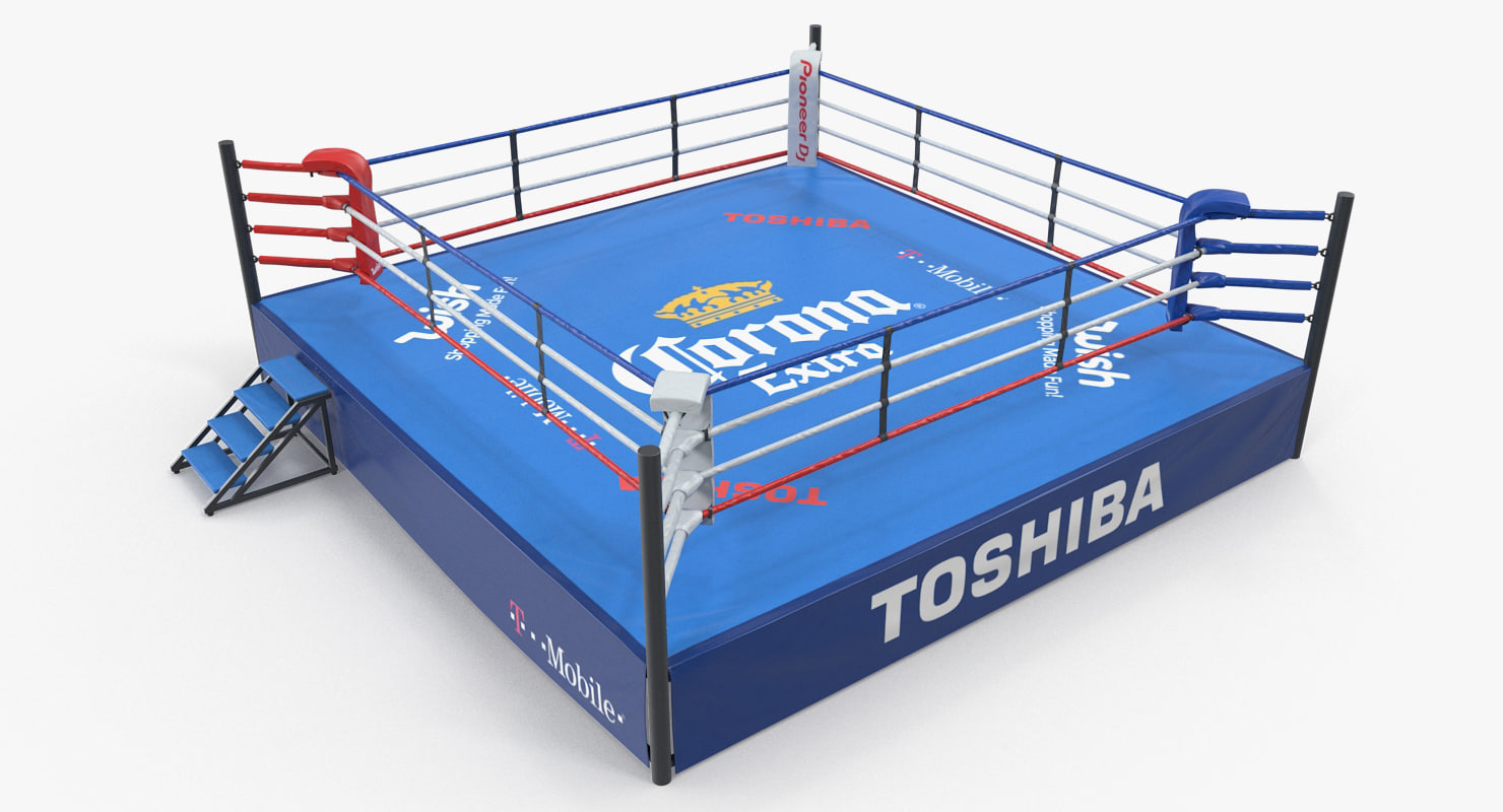 boxing ring 3D