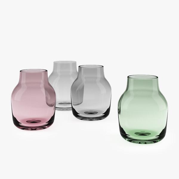 muuto silent vase 3D model