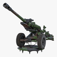 light field howitzer m119 3D