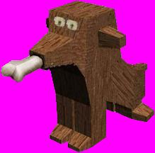gnome dog 3D model