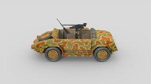 3D italian anti-tank car