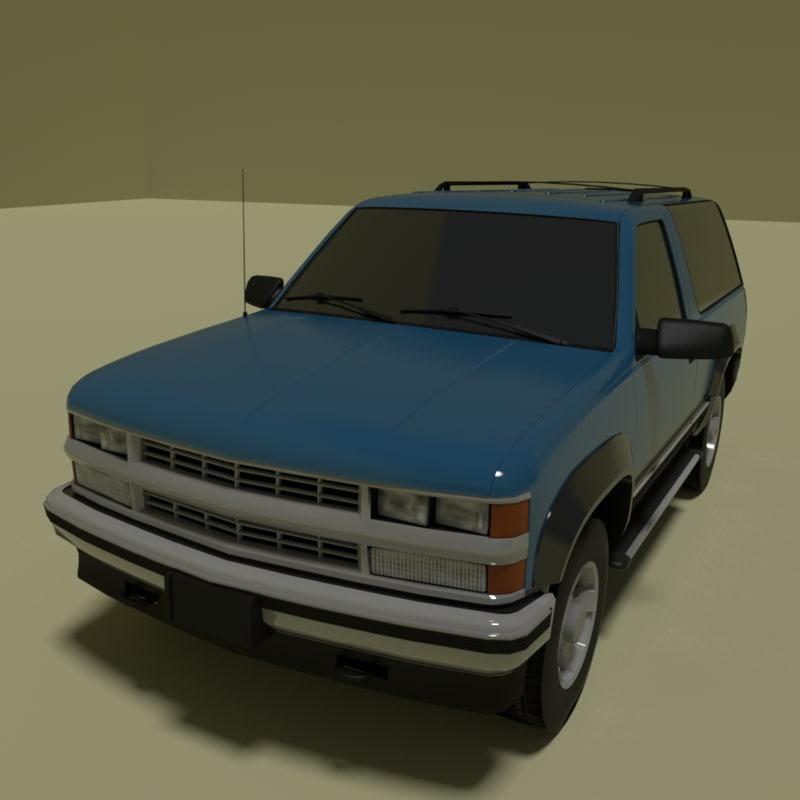 3 door suv model