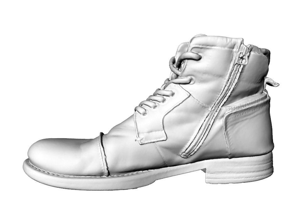 realistic shoe 3D model