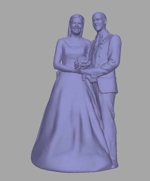 scanned background model