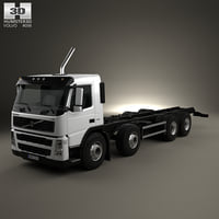 Volvo FM Chassis Truck 4-axle 2010