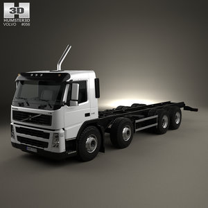 3D fm chassis 4-axle