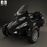 3D brp can-am spyder model
