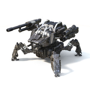 3D warrior spider