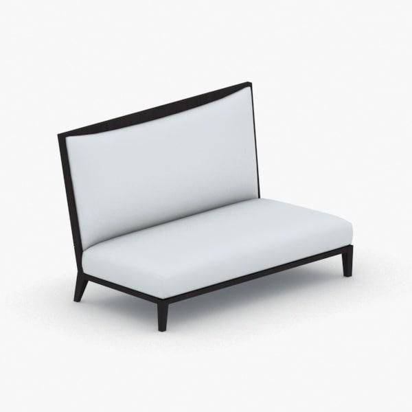 interior - sofa 3D model