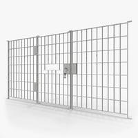3D prison bars