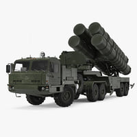 s-400 triumf launch vehicle model