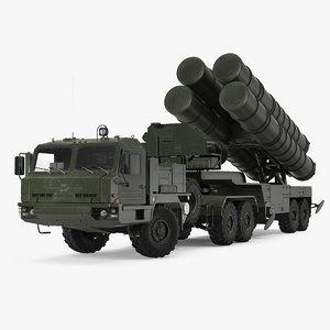 s-400 triumf launch vehicle model