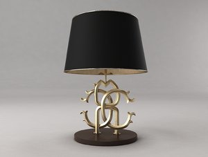 roberto cavalli lamp 3D model
