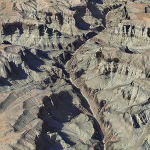 3D realistic grand canyon 01