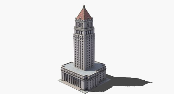 city courthouse 3D