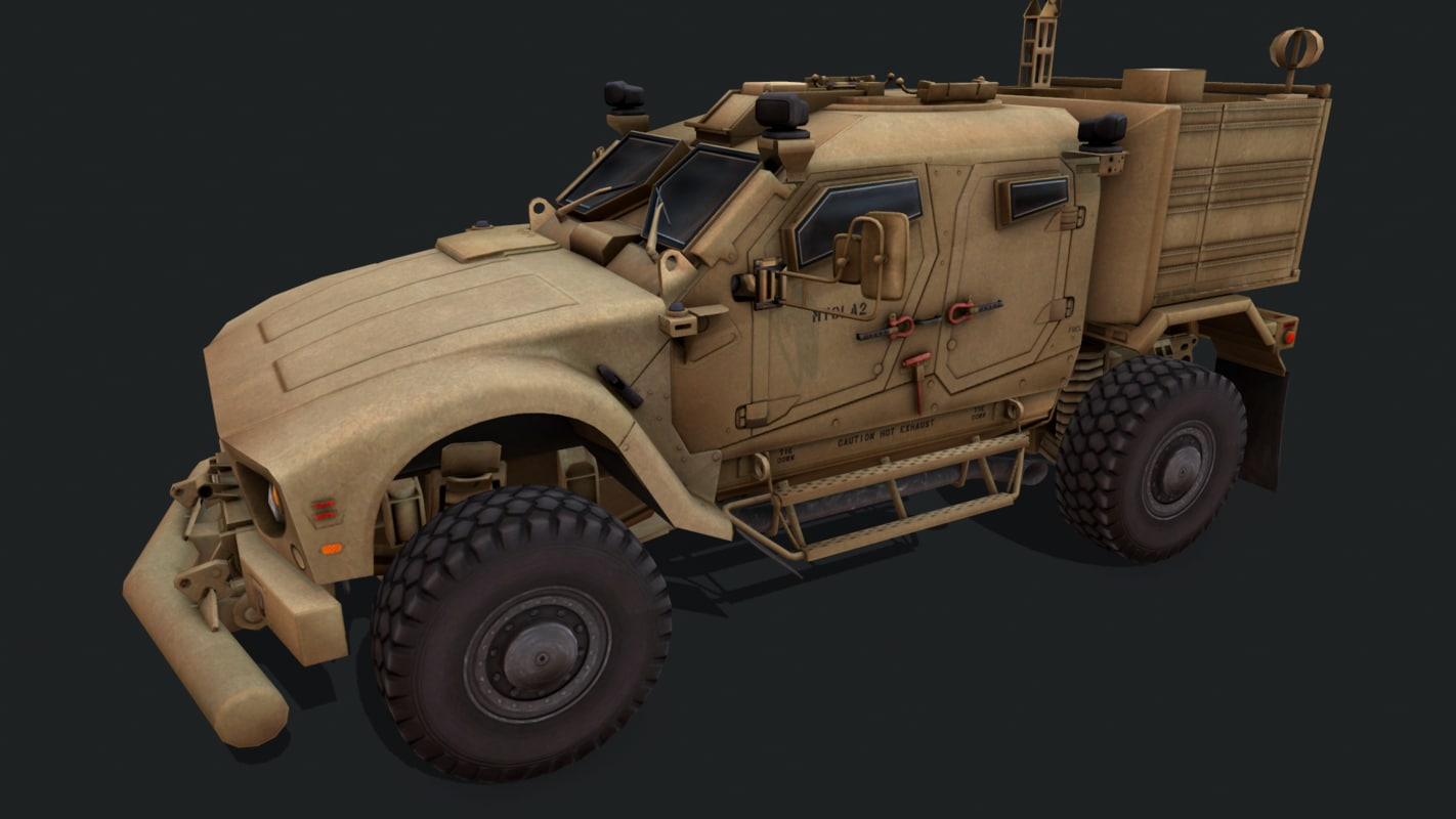 military vehicles 3D