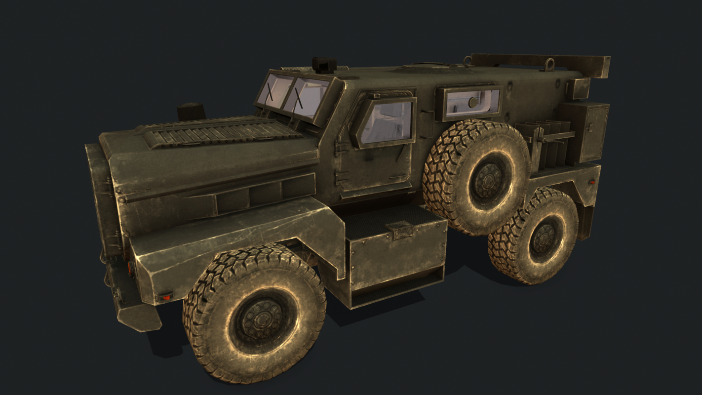 3D american armoured