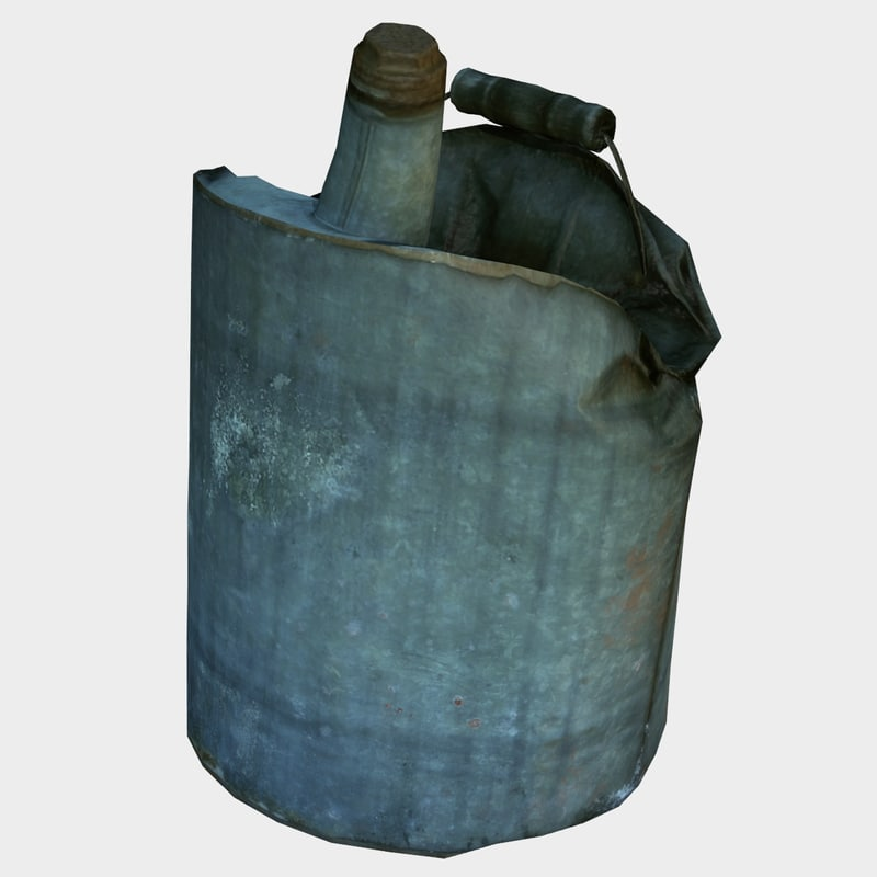 3D model old gas