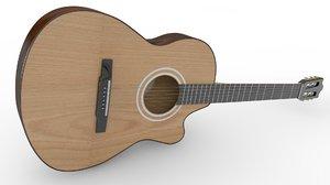 classic guitar 3D